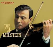 Nathan Milstein - The Art of Nathan Milstein, CD
