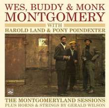 Montgomery Brothers (Wes, Monk & Buddy): The montgomery sessions, CD