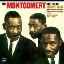 Montgomery Brothers (Wes, Monk & Buddy): The Montgomery Brothers/Groove Yard: Quartet Studio Sessions, CD