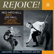 Red Mitchell & Jim Hall: Rejoice / Good Friday Blues / Jazz Guitar, 2 CDs