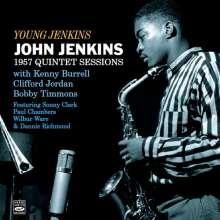 John Jenkins (Jazz) (1931-1993): Young Jenkins: 1957 Quintet Sessions, CD