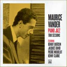 Maurice Vander (1929-2017): Piano Jazz - Trio Sessions, CD