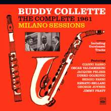 Buddy Collette (1921-2010): The Complete 1961 Milano Sessions (+ Unreleased Tracks), 2 CDs