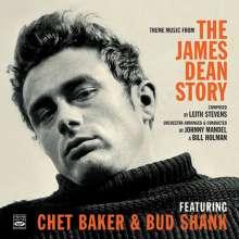"""Chet Baker & Bud Shank: Theme Music From """"The James Dean Story"""", CD"""