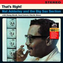 Nat Adderley (1931-2000): That's Right! (remastered) (180g) (Limited Edition), LP