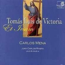 Tomas Louis de Victoria (1548-1611): Et Iesum - Motetten für Sologesang & Laute, CD
