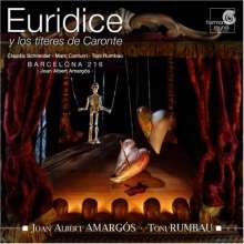 Joan Albert Amargos (geb. 1950): Euridice y los titeres de Caronte, CD