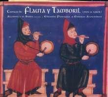 Alfonso el Sabio (1223-1284): Cantigas de Flauta y Tamboril, CD
