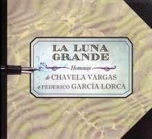 Chavela Vargas: La Luna Grande: Homenaje De Chavela Vargas A Federico Garcia Lorca, CD