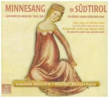 Minnesang in Südtirol, CD