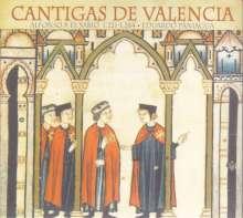 Alfonso el Sabio (1223-1284): Cantigas de Valencia, CD