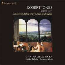Robert Jones (1577-1617): The Second Booke of Songs And Ayres, CD