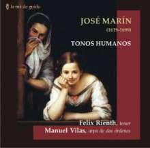 Jose Marin (1619-1699): Tonos Humanos, CD