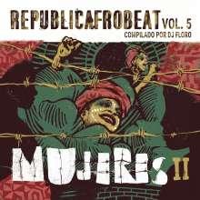 Republicafrobeat Vol.5 - Mujeres II, CD