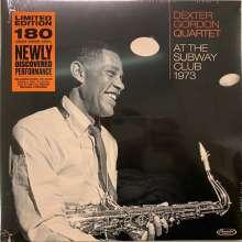 Dexter Gordon (1923-1990): At The Subway Club 1973 (180g) (Limited-Edition), LP