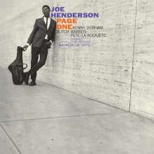 Joe Henderson (1937-2001): Page One (180g) (Limited-Edition), LP