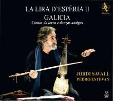Jordi Savall - La Lira d'Esperia II Galicia (Cantos de terra e danzas antigas), Super Audio CD