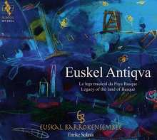 Euskel Antiqva - Legacy of the Land of Basque, CD