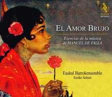 El Amor Brujo - Esencias de la musica de Manuel de Falla, CD