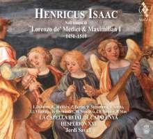 Heinrich Isaac (1450-1517): Lieder, Motetten, Instrumentalmusik, SACD