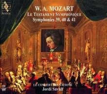 Wolfgang Amadeus Mozart (1756-1791): Symphonien Nr.39-41, 2 SACDs