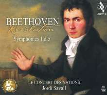 Ludwig van Beethoven (1770-1827): Symphonien Nr.1-5, 3 Super Audio CDs