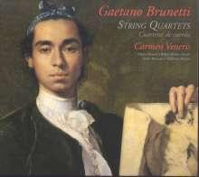 Gaetano Brunetti (1744-1798): Streichquartette L.153,161,196,199, CD