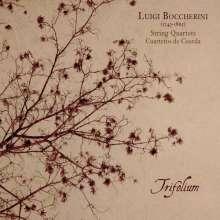 Luigi Boccherini (1743-1805): Streichquartette op.2 Nr.1, op.24 Nr.6, op.32 Nr.5, op.44 Nr.4, CD