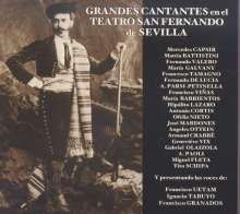 Grandes Cantantes en el Teatro San Fernando Sevilla, CD