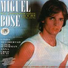 Miguel Bosé: Sus Primeros Anos En Cbs, 2 CDs