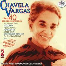 Chavela Vargas: Sus 40 Grandes Canciones, 2 CDs