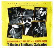 Afro Cuban Jazz Project: Tributo A Emiliano Salvador, CD