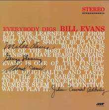 Bill Evans (Piano) (1929-1980): Everybody Digs Bill Evans (180g) (Limited Edition), LP