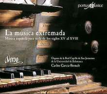 Spanische Orgelmusik des 15.-18.Jahrhunderts, CD