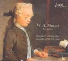 Wolfgang Amadeus Mozart (1756-1791): Oboensonaten KV 376,378,379, CD