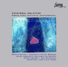 Cristobal Halffter (1930-2021): Werke für Instrumentalensemble, CD