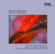 Edison Denisov (1929-1996): Werke für Saxophon, CD