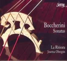 Luigi Boccherini (1743-1805): Sonaten für Cello & Bc G.3-G.6, CD