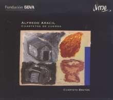 Alfredo Aracil (geb. 1954): Streichquartette Nr.1-4, CD