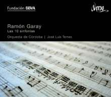 Ramon Garay (1761-1823): Symphonien Nr.1-10, 3 CDs
