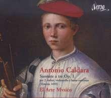 Antonio Caldara (1671-1736): Triosonaten op.1 Nr.2,4,5,8,9,12, CD
