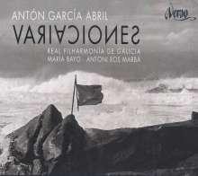 Anton Garcia Abril (geb. 1933): Variaciones Concertantes für Orchester, CD