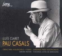 Pablo Casals (1876-1973): Werke für Cello & Klavier, CD