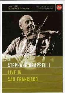Stéphane Grappelli (1908-1997): Live In San Francisco 1982, DVD