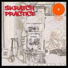 DJ T-Kut: Scratch Practice (Limited-Edition) (Orange Crush Vinyl), LP