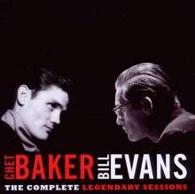Chet Baker & Bill Evans: The Complete Legendary Sessions, CD