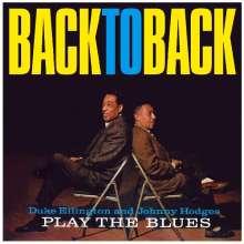 Duke Ellington & Johnny Hodges: Back To Back (180g) (Limited Edition), LP