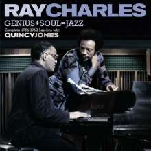 Ray Charles: Genius + Soul = Jazz Complete, 2 CDs