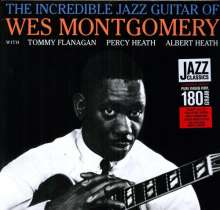 Wes Montgomery (1925-1968): The Incredible Jazz Guitar (remastered) (180g) (Limited Edition), LP
