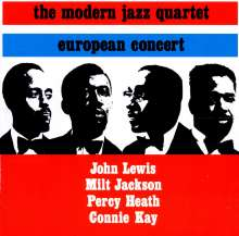 The Modern Jazz Quartet: European Concert, CD
